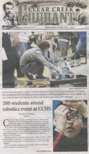 Robotics event at CCHS