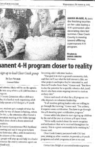 4-H becoming reality