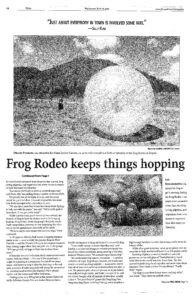 archery and frog rodeo