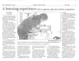 Robotics article