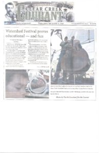 Watershed Festival Article