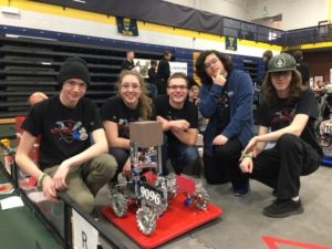 2018 C2Botz CCHS Robotics team
