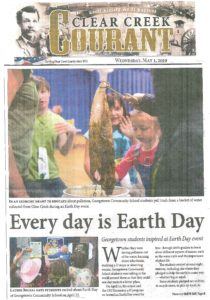 CSU Extension Earth Day article in Clear Creek Currant newspaper