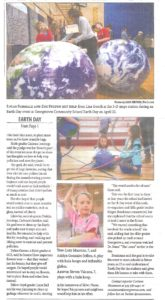 Page 2 of CSU Extension Earth Day article in Clear Creek Currant newspaper