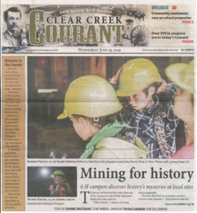 Clear Creek Courant Mountain to Metro Camp Article