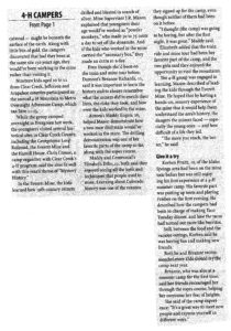 Clear Creek Courant Mountain to Metro Camp Article page 2